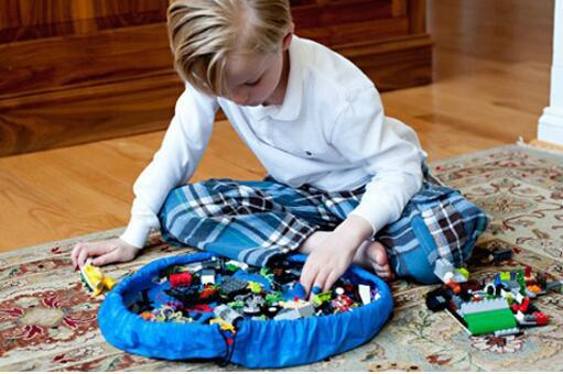 Toy Storage/toy organizer and floor activity mat/PlayBag