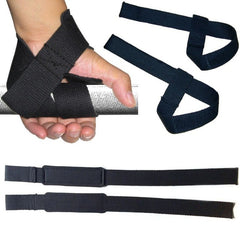 Weight Lifting Hand Wrist Bar Support Strap