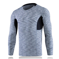 Long Sleeve Slim Body Fit Fitness T-Shirts