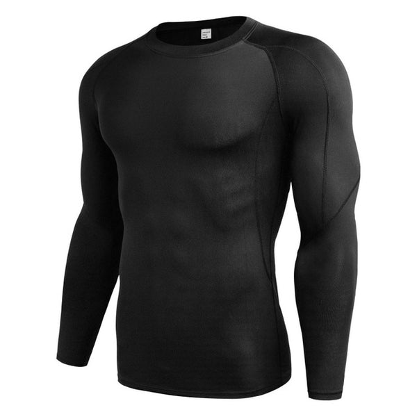Solid Quick Dry Fitness Slim Fit Top