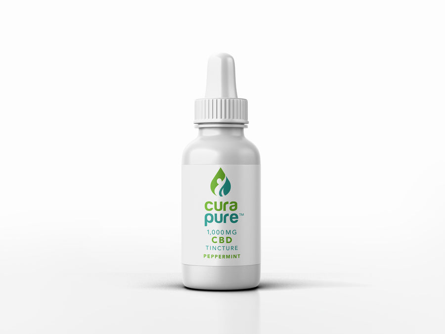 1000mg CBD Oil Tincture - Peppermint