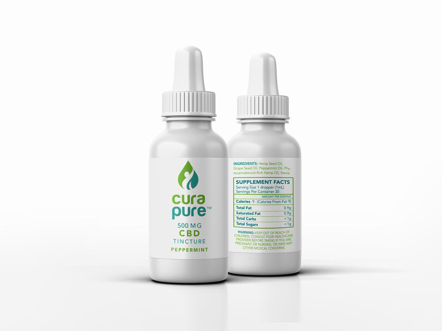 500mg CBD Oil Drop Tincture