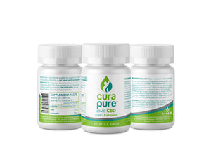 25mg CBD Softgels (Anti-Inflammation Formula)