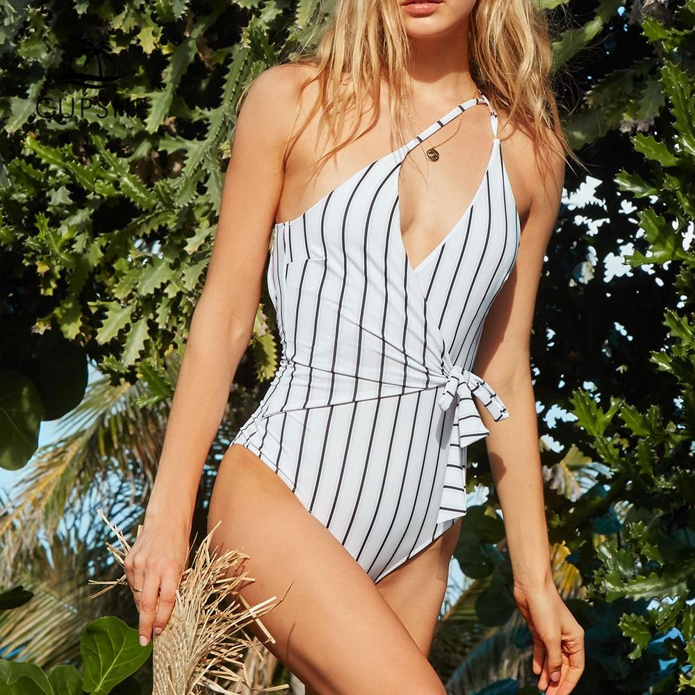 Zoe Striped Swimsuit