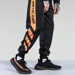 The Striped Patchwork Joggers