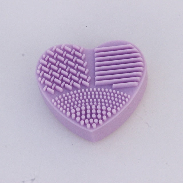 Heart Shaped Brush Cleaner (No More Skin Problems) - FashionlyX