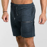 Zipper Muscle Shorts - FashionlyX