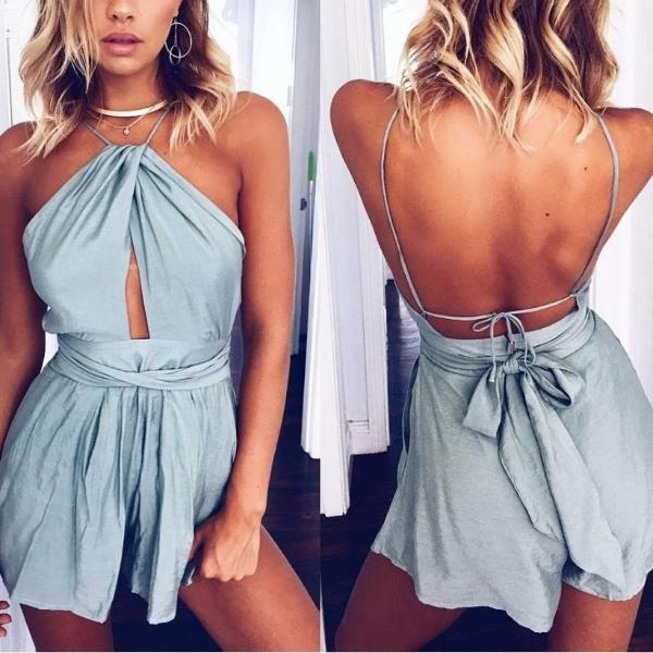 Leigh's Romper - FashionlyX