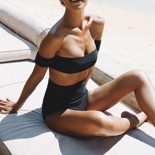 Riley Off Shoulder Swimsuit