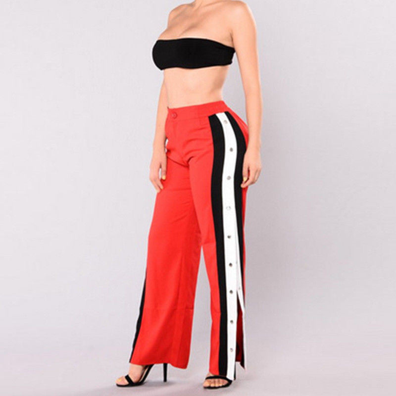 Rhianna Cut Off Long Bottoms - FashionlyX