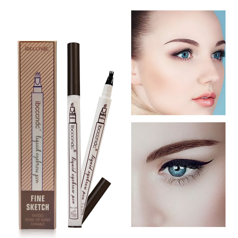 Smudge-Proof Microblading Eyebrow Tattoo Pen
