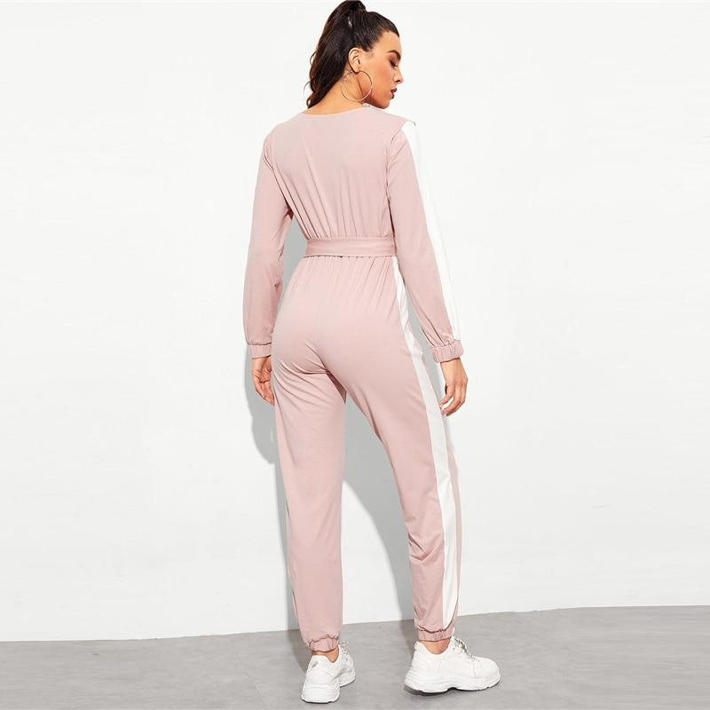 Kylie Striped Jumpsuit