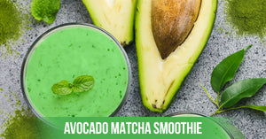 How to make Avocado Matcha Smoothie