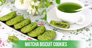 Try Matcha Biscuit Cookies