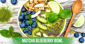 Matcha Blueberry Bowl