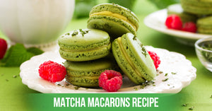 How to make Matcha Macarons