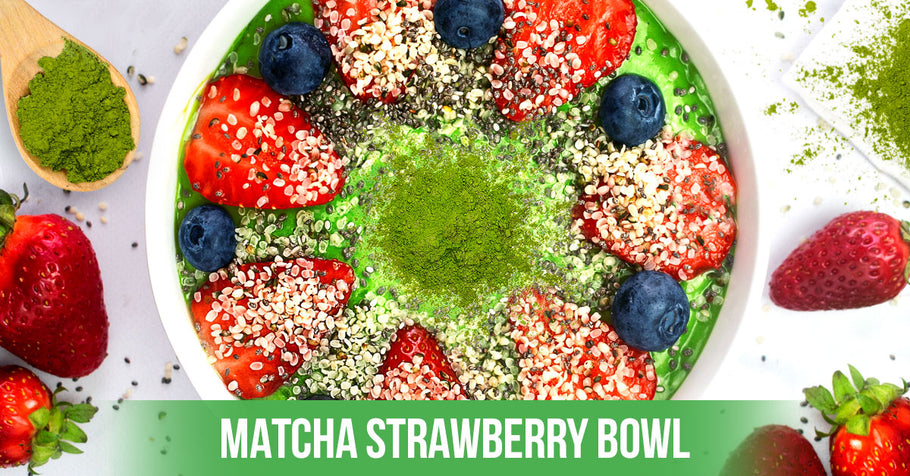 Matcha Strawberry Bowl