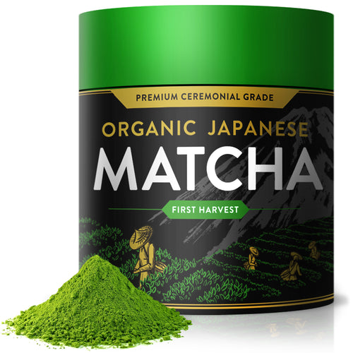 Organic Japanese Ceremonial Matcha Green Tea Powder