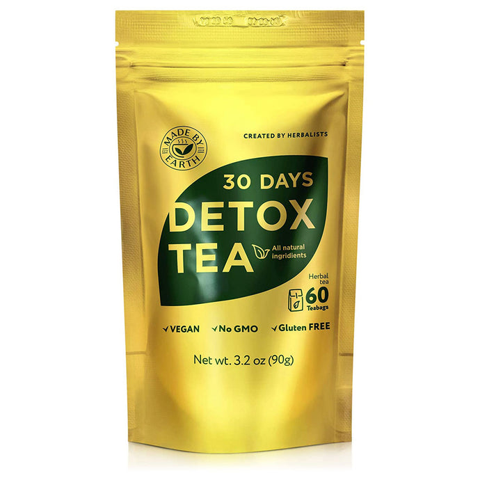 30 Day Detox Tea with Detox Guide, 60 bags