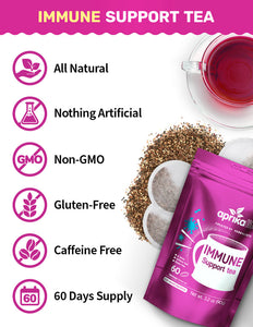Immune Support Tea with Free Guide, 60 Bags