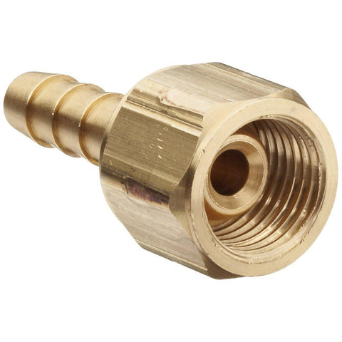 Oxygen Coupling Right Hand Thread with Hose Barb-Industrial Hardware-Gorman & Smith Beverage Equipment