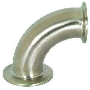 90° Non-Tapered Reducing Tri-Clamp Elbow-Dixon - Fittings-Gorman & Smith Beverage Equipment