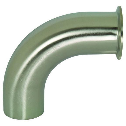 B2CM Polished 90° Clamp x Weld Elbows-Tri-Clamp Fittings-Gorman & Smith Beverage Equipment