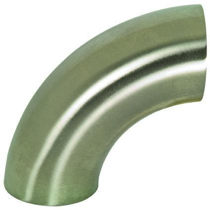B2WCL Polished 90° Weld Elbows-Sanitary Fittings-Gorman & Smith Beverage Equipment
