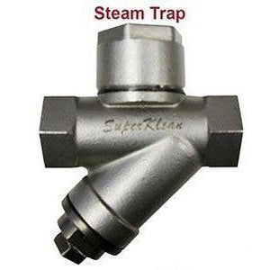 Stainless Steel Steam Trap and Strainer-Washdown-Gorman & Smith Beverage Equipment