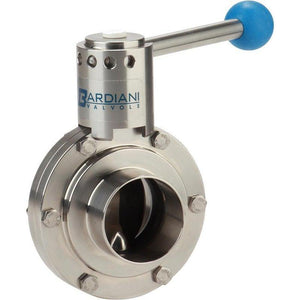 VVF Manual Butterfly Valve-Bardiani - Valves-Gorman & Smith Beverage Equipment