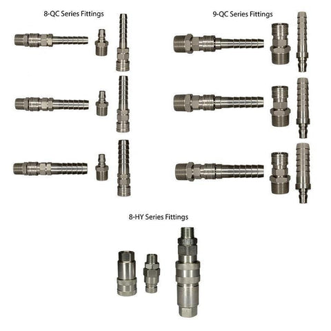 Quick-Connect Fittings - Couplers-Washdown-Gorman & Smith Beverage Equipment