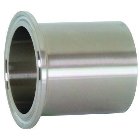 "TL14AM7 Orbital ""Automatic"" Weld Tri-Clamp Ferrule-Tri-Clamp Fittings-Gorman & Smith Beverage Equipment"