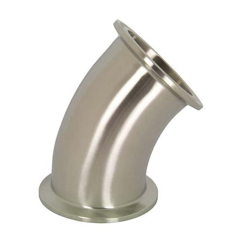 T2KMP High Purity BioPharm - 45° Clamp x Clamp Elbows-Sanitary Fittings-Gorman & Smith Beverage Equipment