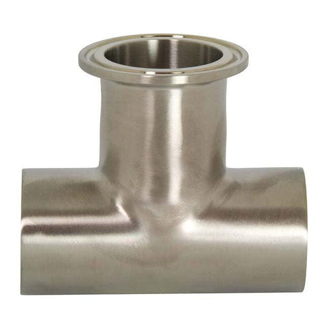 T7WWM High Purity BioPharm - Weld x Weld x Clamp Tees-Sanitary Fittings-Gorman & Smith Beverage Equipment