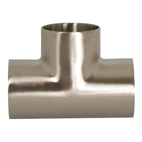 T7WWW High Purity BioPharm - Weld x Weld x Weld Tees-Sanitary Fittings-Gorman & Smith Beverage Equipment