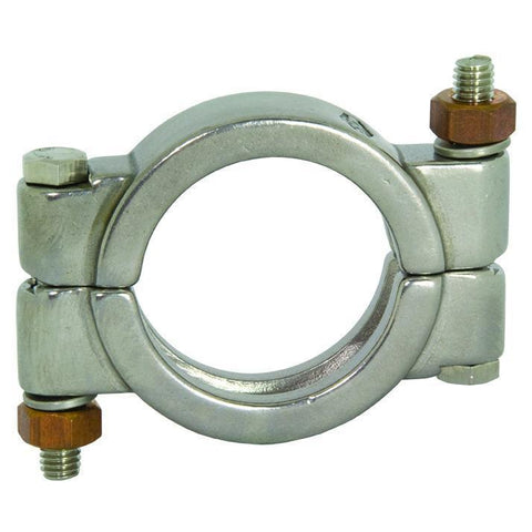 Bolted High-Pressure Tri-Clamp-Tri-Clamp Fittings-Gorman & Smith Beverage Equipment
