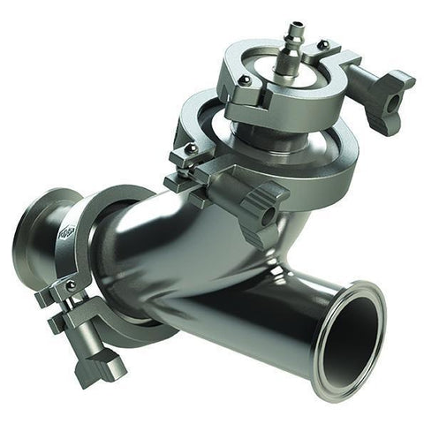 B45BY Series Y-Ball Tri-Clamp Check Valve-Sanitary Valves-Gorman & Smith Beverage Equipment