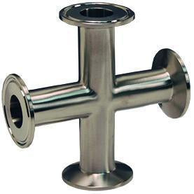 B9MP Tri-Clamp Cross-Tri-Clamp Fittings-Gorman & Smith Beverage Equipment