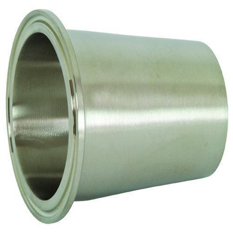 B31M Polished Concentric Clamp x Weld Reducers-Tri-Clamp Fittings-Gorman & Smith Beverage Equipment