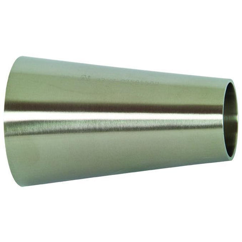 B31W Polished Concentric Weld Reducers-Sanitary Fittings-Gorman & Smith Beverage Equipment
