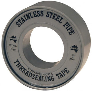 Stainless Steel PTFE (Teflon) Tape-Dixon - Tools-Gorman & Smith Beverage Equipment