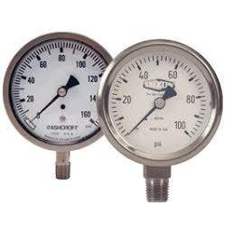 GLSS Stainless Steel Liquid Filled Pressure Gauge-Instrumentation-Gorman & Smith Beverage Equipment