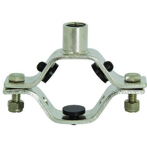 Hex Hanger with Nitrile Grommets and All Thread Coupler-Industrial Hardware-Gorman & Smith Beverage Equipment