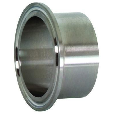 L14AM7 Long Weld Tri-Clamp Ferrule-Tri-Clamp Fittings-Gorman & Smith Beverage Equipment