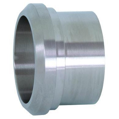 14A Long Plain Bevel Seat Weld Ferrules-Sanitary Fittings-Gorman & Smith Beverage Equipment