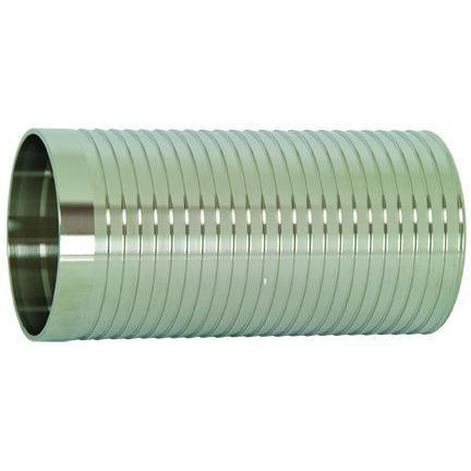 Long Weld Hose Adapters-Sanitary Fittings-Gorman & Smith Beverage Equipment