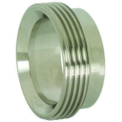 Recessed Threaded Bevel Seat Ferrules-Sanitary Fittings-Gorman & Smith Beverage Equipment