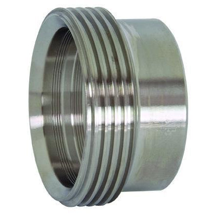 15R Recessless Threaded Bevel Seat Ferrules for Expanding-Sanitary Fittings-Gorman & Smith Beverage Equipment