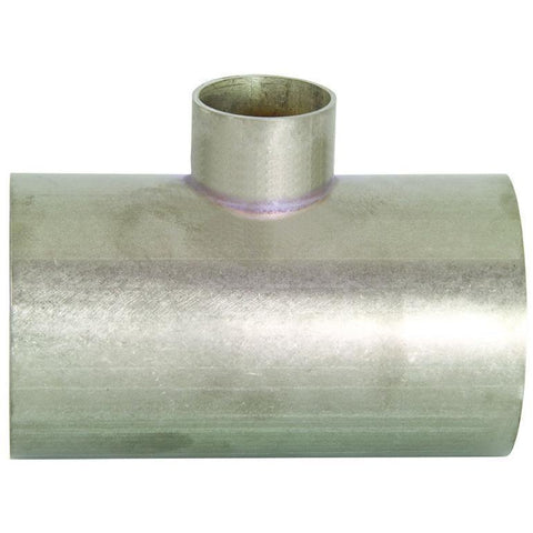 Unpolished Reducing Weld Tees-Sanitary Fittings-Gorman & Smith Beverage Equipment