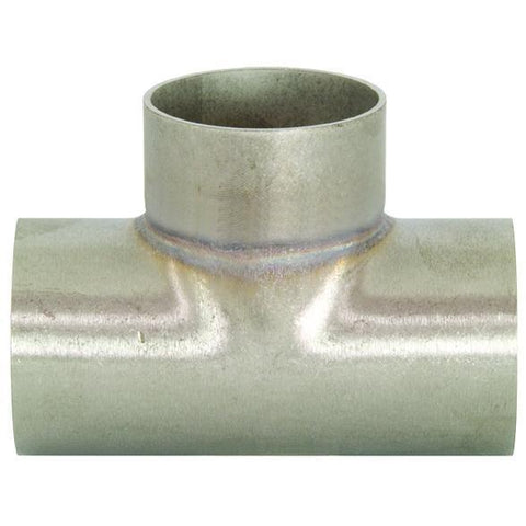 Unpolished Short Weld Tees-Sanitary Fittings-Gorman & Smith Beverage Equipment